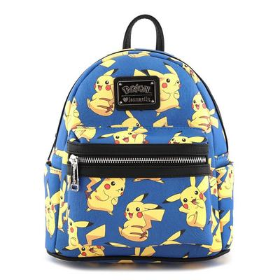 Pokemon Tossed Pikachu Mini Backpack