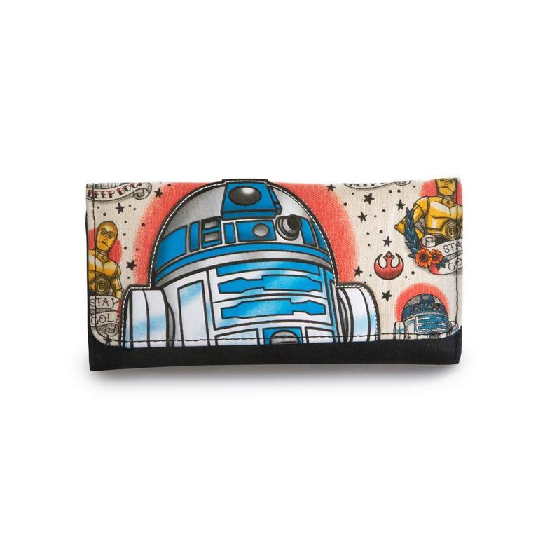 Star Wars Tattoo Print Ziparound Wallet