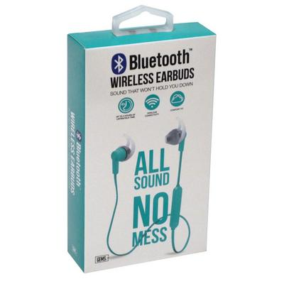 Teal Bluetooth Earbuds