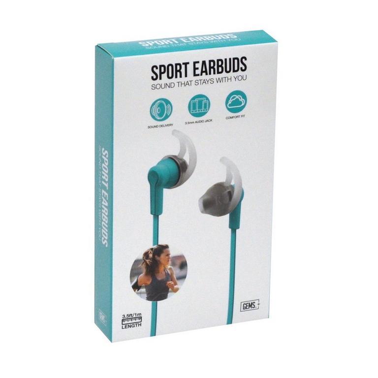Sport Earbuds - Teal