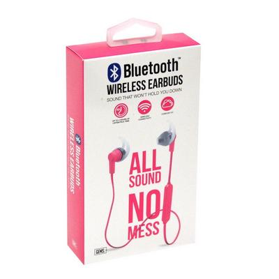Pink Bluetooth Earbuds