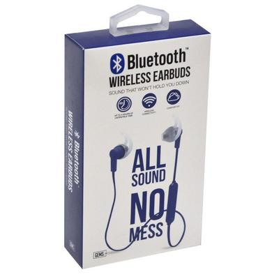 Blue Bluetooth Earbuds