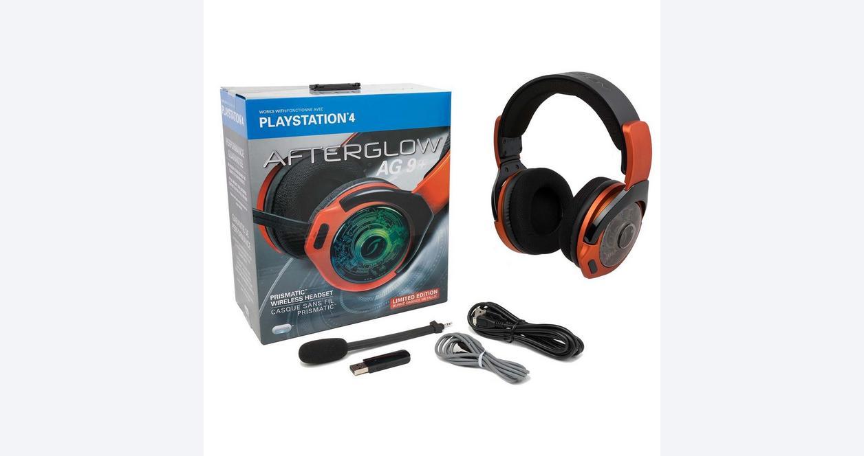 Afterglow AG 9 Plus Wireless Headset - Orange