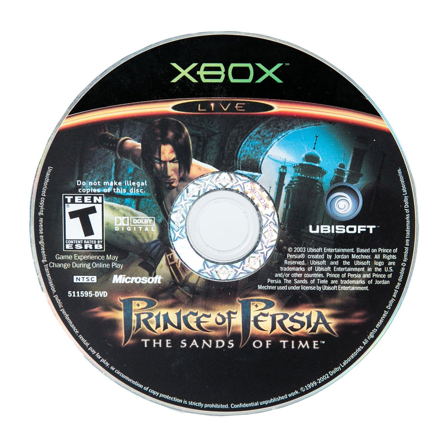 Prince Of Persia The Sands Of Time Xbox Gamestop