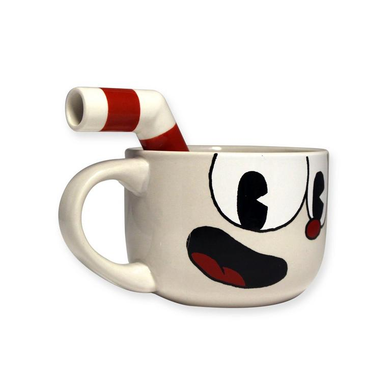 Cuphead Mug with Straw