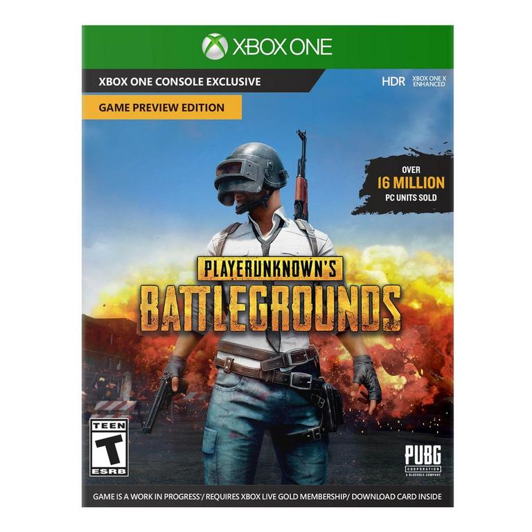 Playerunknown S Battlegrounds Game Preview Edition
