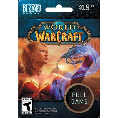 Blizzard World of Warcraft Full Game eCard