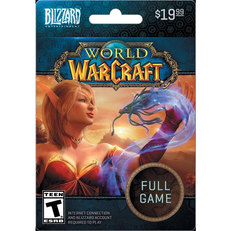World of Warcraft Full Game eCard