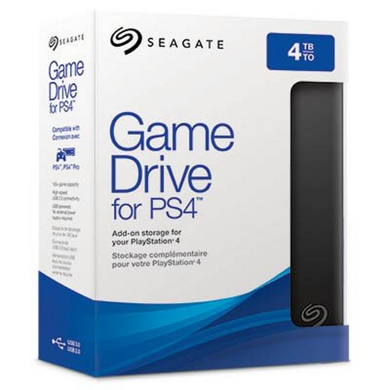 External Game Drive 4TB for PlayStation 4