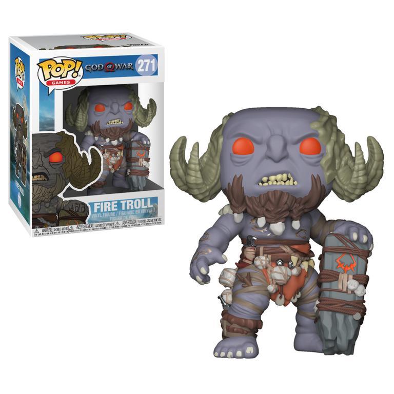 POP! Games: God of War - Fire Troll