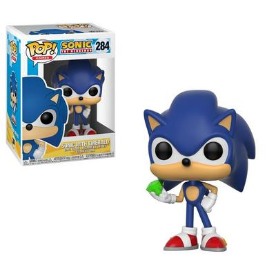 POP! Games: Sonic The Hedgehog - Sonic with Emerald