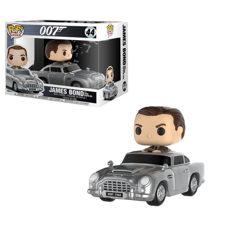 POP! Rides: 007 James Bond with Aston Martin DB5