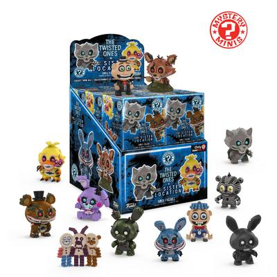 Mystery Mini: Five Nights at Freddy's The Twisted Ones + Sister Location Blind Box - Only at GameStop
