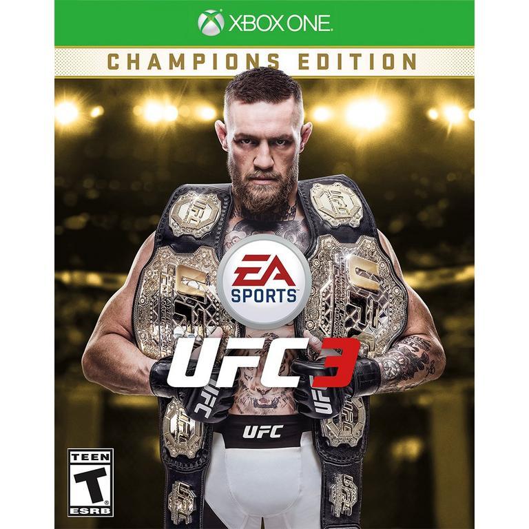 EA Sports UFC 3 Champions Edition