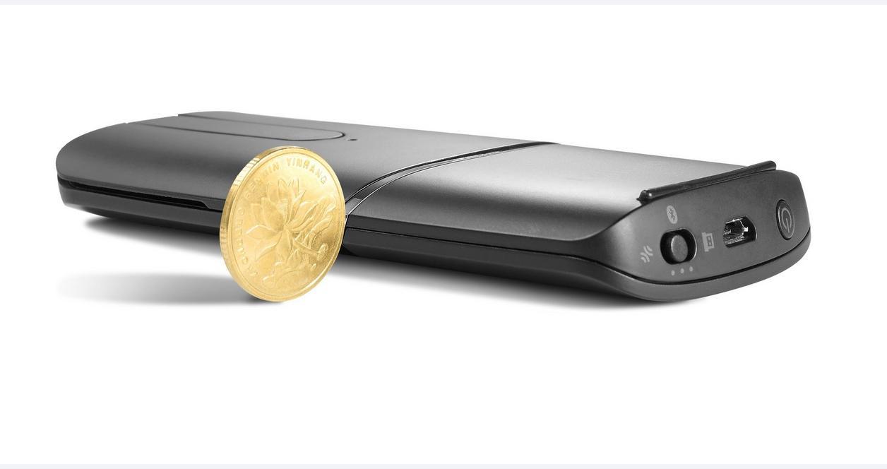 Lenovo Wireless Yoga Silver Mouse