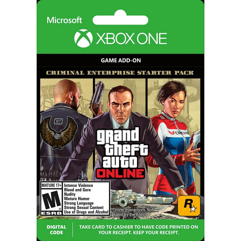 Grand Theft Auto Online Criminal Enterprise Starter Pack | Xbox One |  GameStop