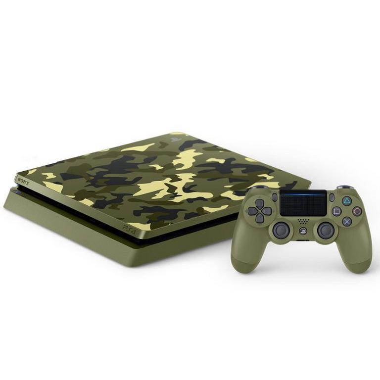 PlayStation 4 1TB System - Green Camouflage