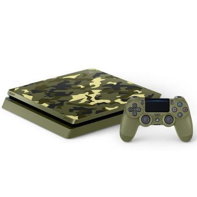 PlayStation 4 1TB System - Green Camouflage - GameStop Premium Refurbished