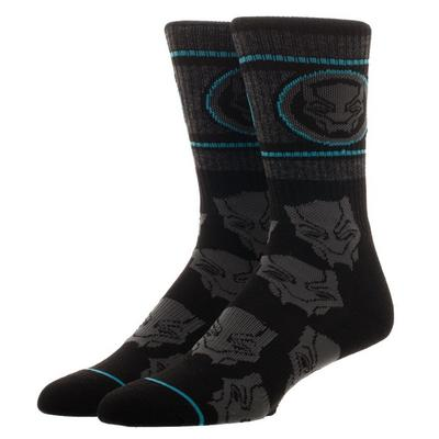 Black Panther Crew Socks