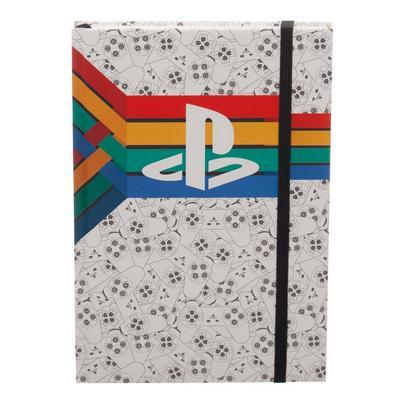 Playstation Retro Stripe Journal