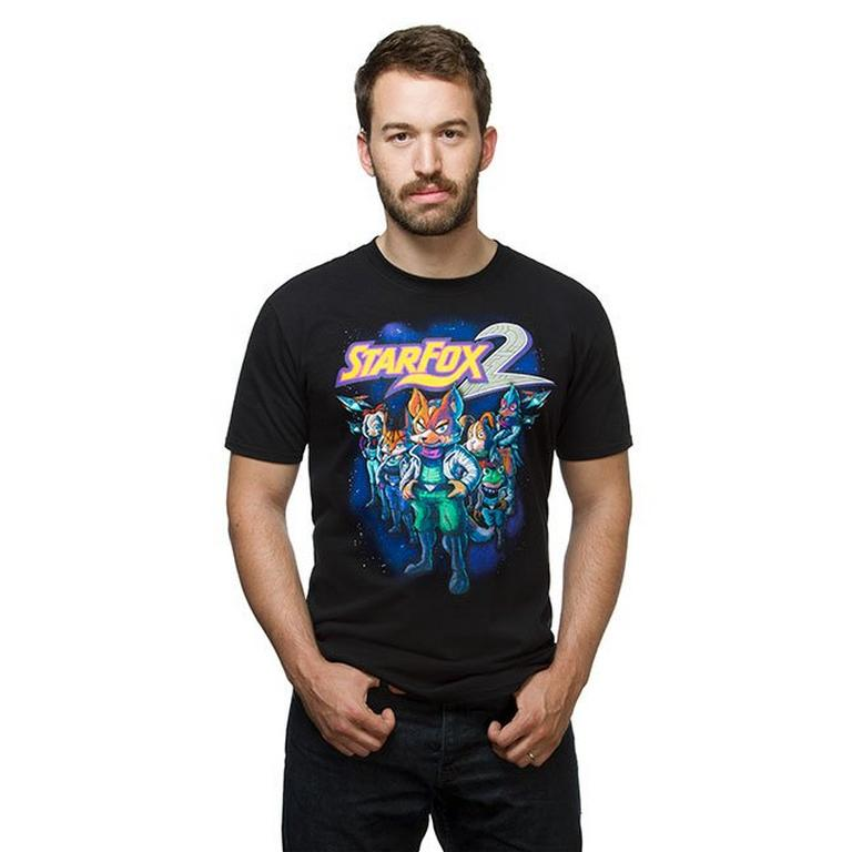 Nintendo Star Fox 2 Cover Shirt