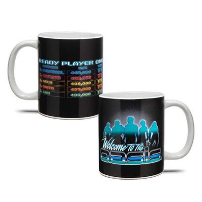 Ready Player One Oasis Iconic Scoreboard Mug