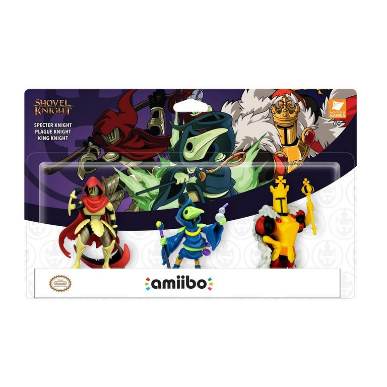 Shovel Knight: Treasure Trove amiibo 3 Pack