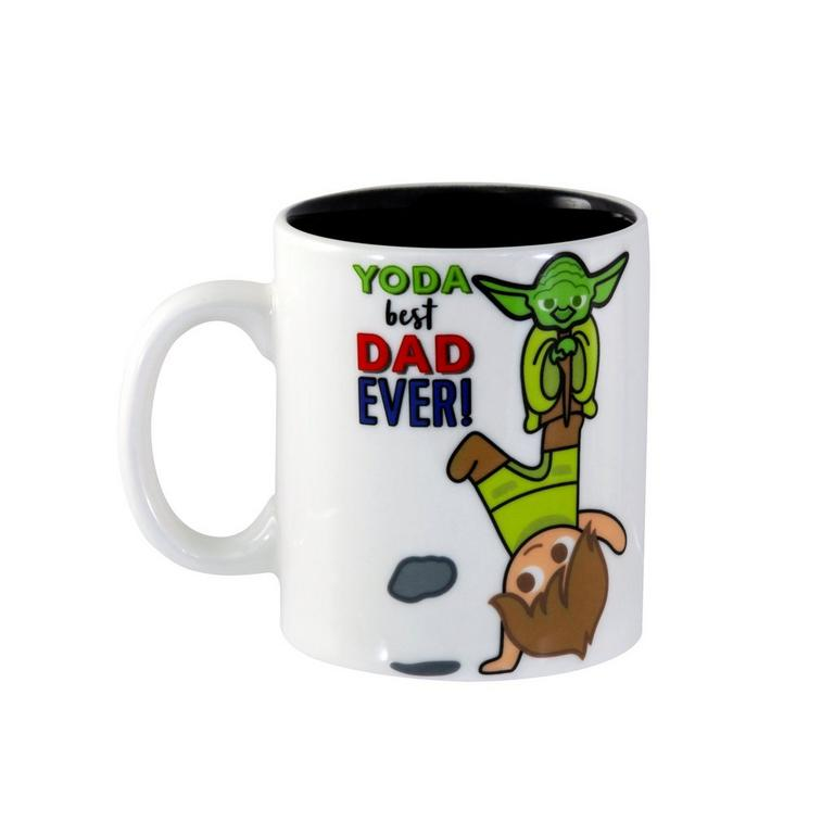 Star Wars Yoda Best Dad Ever Mug