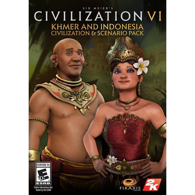Sid Meier's Civilization VI - Khmer and Indonesia Civilization & Scenario Pack