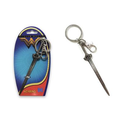 DC Wonder Woman Sword Pewter Key Chain