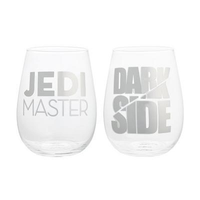 2Pack Star Wars: Dark-Jedi Stemless Wine Glasses