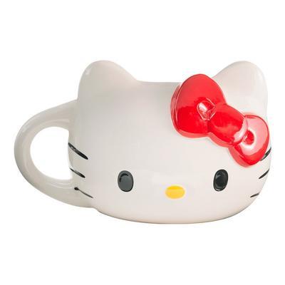 Hello Kitty Face Sculpted Mug