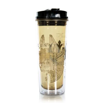 Star Wars: Millennium Falcon Print Water Bottle
