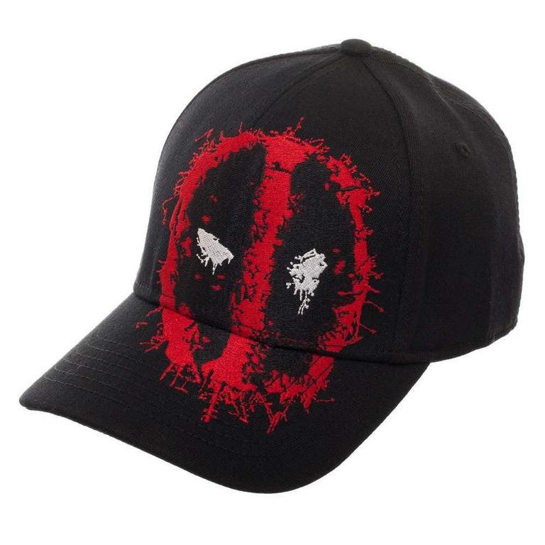 Deadpool Spray Paint Logo Baseball Cap