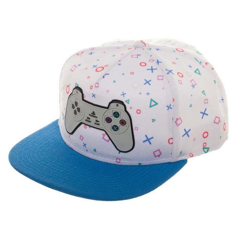 Sony Playstation Controller Snapback Baseball Cap