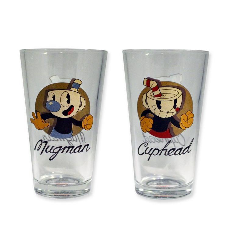 Cuphead Pint Glass 2 Pack