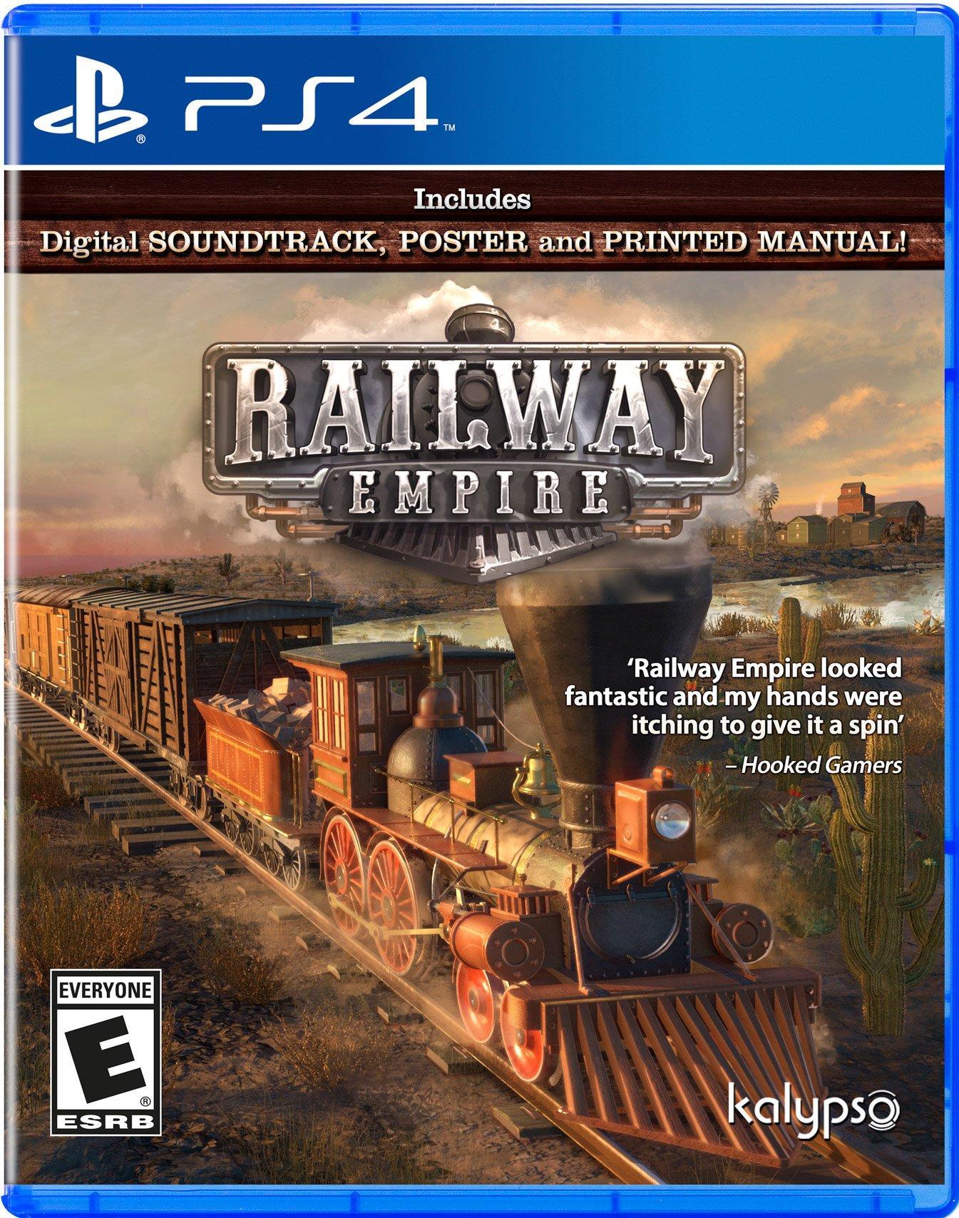 Railway Empire   PlayStation 4   GameStop