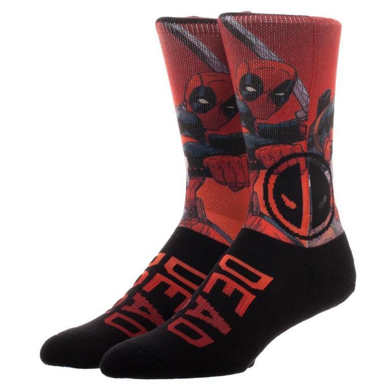 Deadpool Sublimated Socks