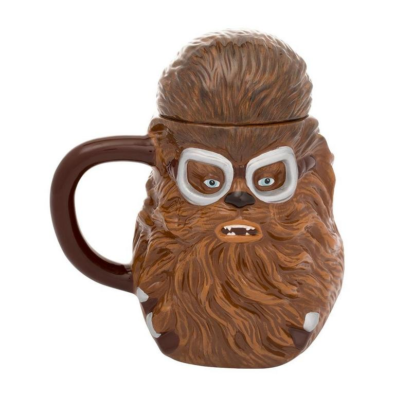 Star Wars: Solo - Chewbacca 20 oz. Sculpted Ceramic Mug with Lid