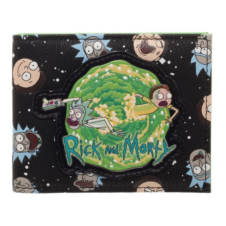 Rick and Morty Space Wallet