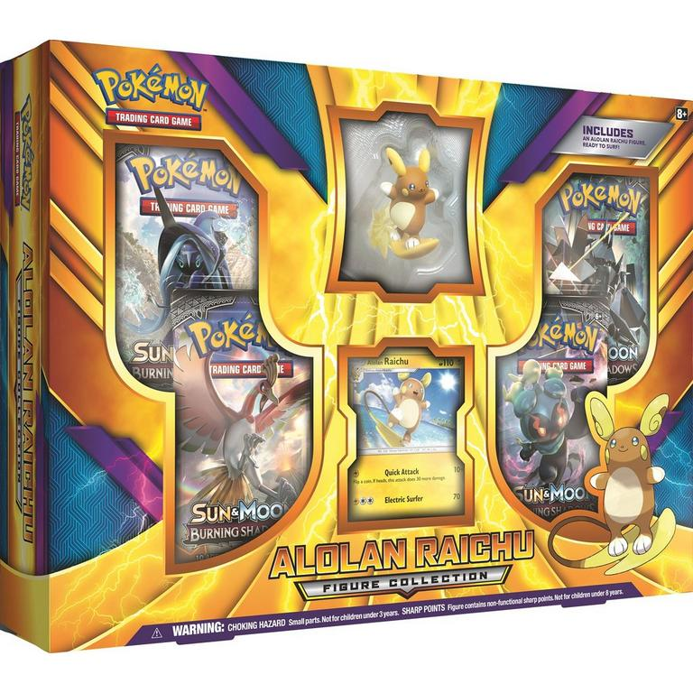 Pokemon Trading Card Game: Alolan Raichu Figure Collection