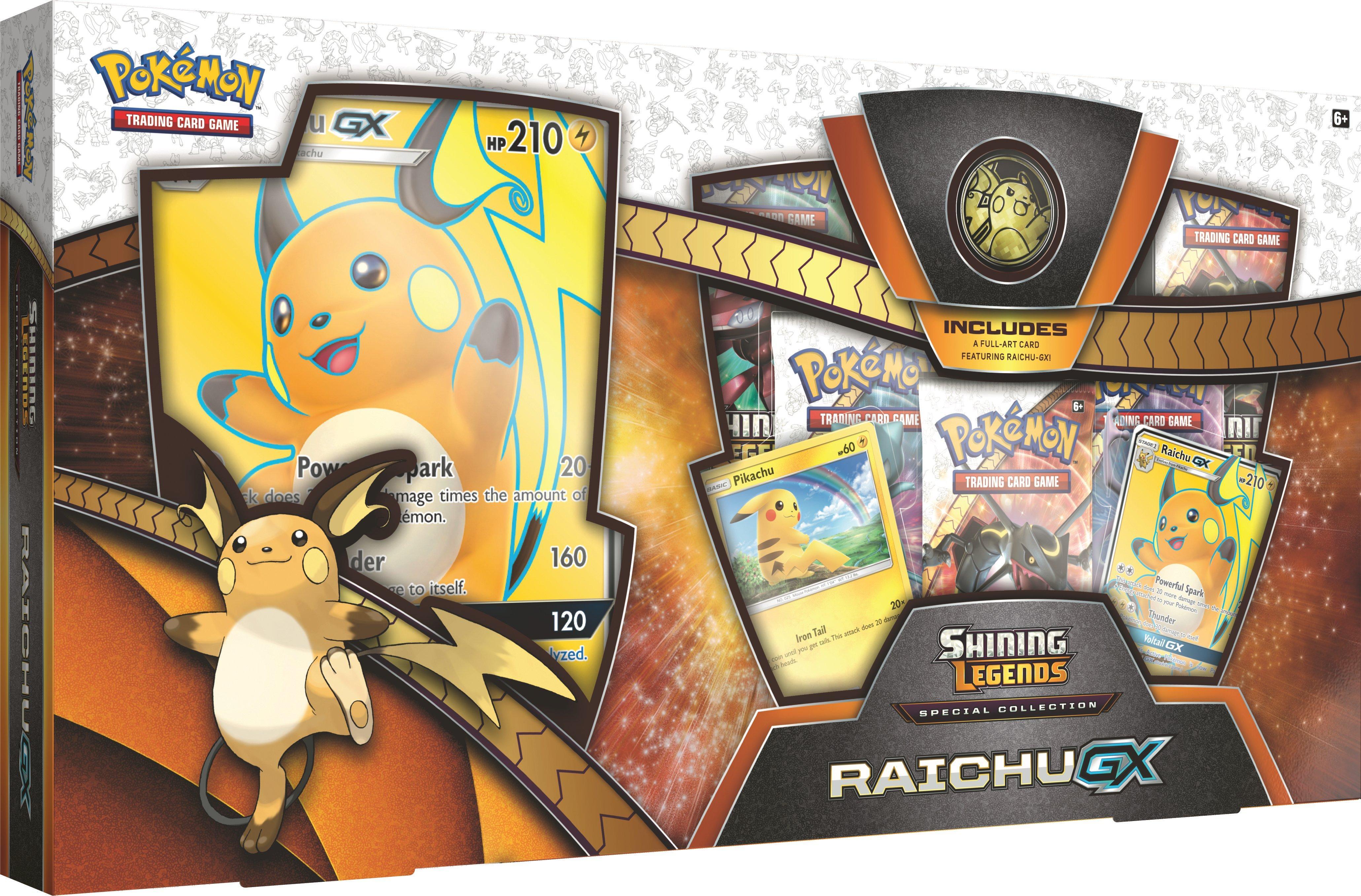 Pokemon Trading Card Game Shining Legends Raichu Gx Special