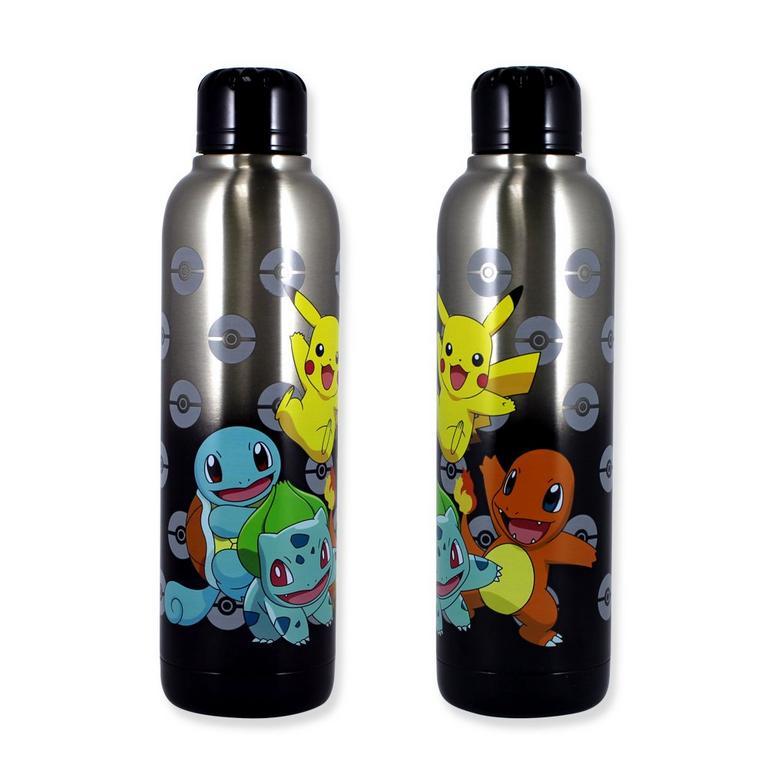Pokemon Starter Set Stainless Steel Water Bottle