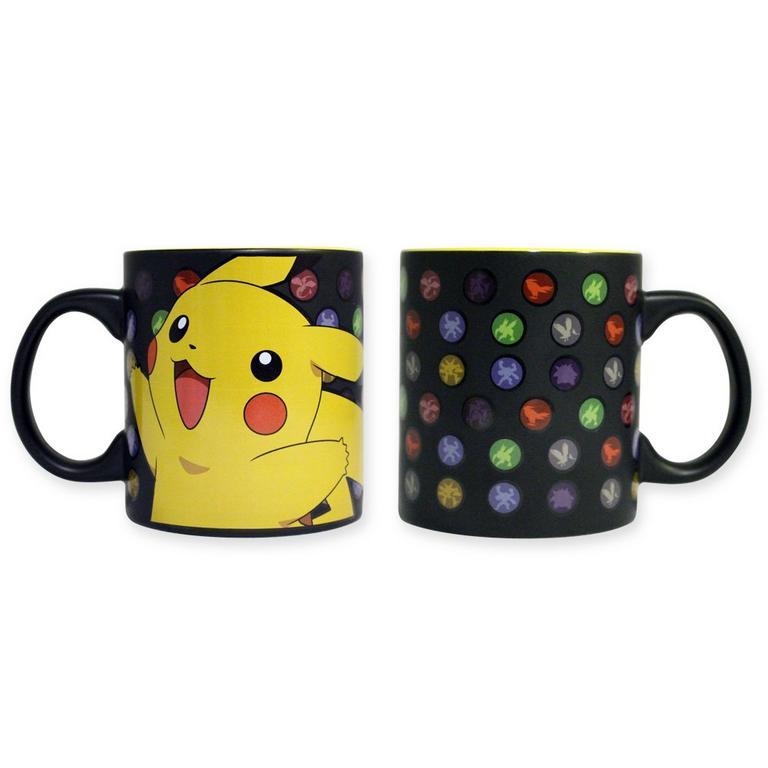 Pokemon Pikachu Poke Balls Mug