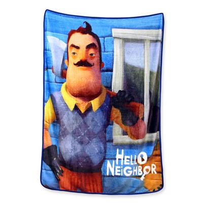 Hello Neighbor Fleece Blanket