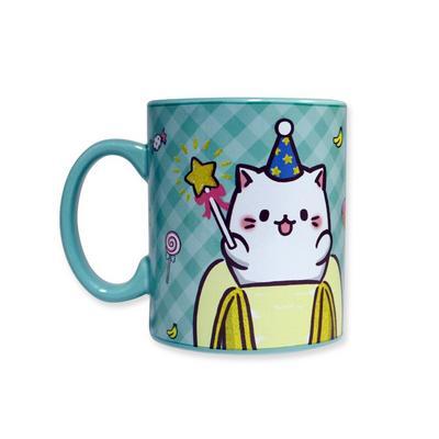 Bananya Birthday Cat Mug