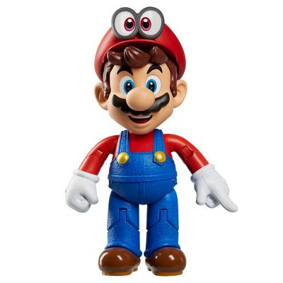 Mario Odyssey with Cappy Action Figure