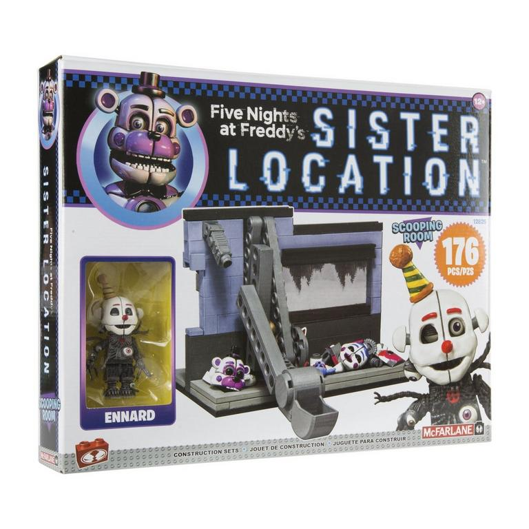 Five Nights At Freddy's Micro Construction Set - Scooping Room