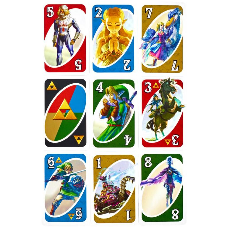 UNO The Legend of Zelda Card Game Only at GameStop