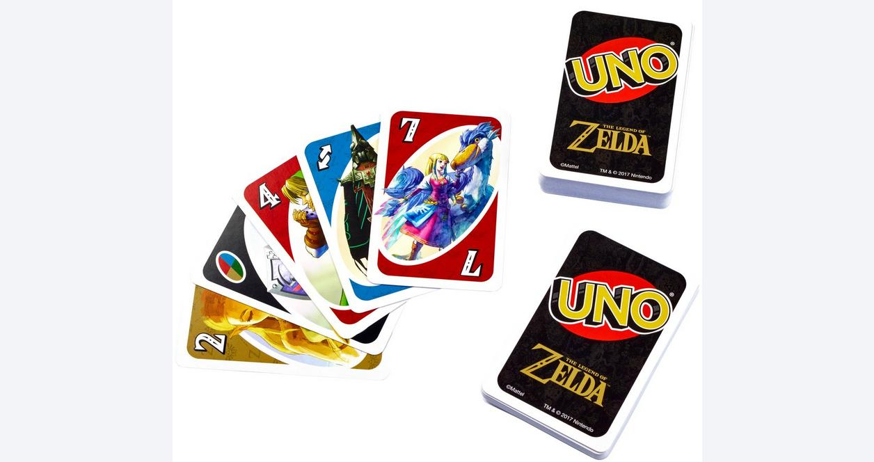 UNO The Legend of Zelda Card Game - Only at GameStop | GameStop